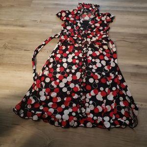 I.N.Girl Polka Dot Dress Girls Sz 7